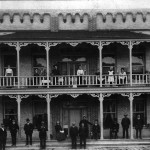 The Grand Central Hotel, opened in 1896 and operated by the Lucas family, was one of the most elaborate buildings on Haliburton's main street.