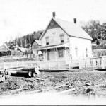 Lakeview, built in 1904, stills stand on the main street of Haliburton today, though there can be no doubt that its surroundings have changed greatly over the years.